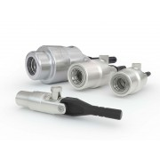 WEH® Connector TW241 for external straight tube diameters , clamping lever actuation, vacuum up to max. 70 bar