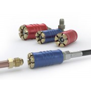 WEH® Connector TW111 for filling refrigerants on Schrader valves - Series