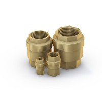 Check Valve TVR61, brass, 0 - 48 bar - Series