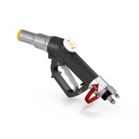 WEH® Fuelling Nozzle TK17 CNG for cars (NGV1), single-handed operation, twin hose system, 250 bar