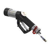 WEH® Fuelling Nozzle TK17 H₂ 35 MPa with data interface (ATEX) for fast filling cars, single-handed operation, self-service