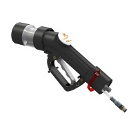 WEH® Fuelling Nozzle TK17 H₂ 70 MPa with data interface (ATEX) for fast filling cars, single-handed operation, self-service