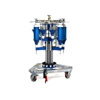 WEH® Filling Rig TS200 / TS250 radial, rotating filling rig for BA cylinders