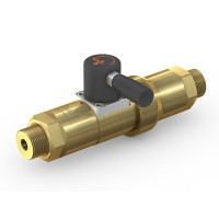 WEH® High Pressure Valve TV17GO for inert gases, manual actuation, shut-off valve, DN12, 420 bar