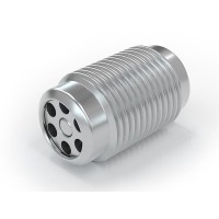 "WEH® Screw-in Valve TVR400, G1/8"" external thread, stainless steel 1.4305, DN 3.6 mm, 250 bar"