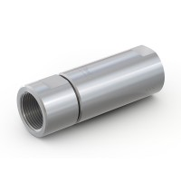 "WEH® Check Valve TVR5 H₂ for buses and trucks and fuelling stations, with internal thread on both sides G3/4"", 350 bar"