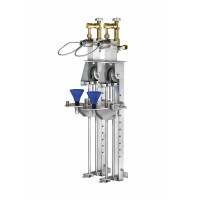 WEH® Filling Rig TS150 linear filling rig for gas cylinders of varying sizes up to 10 l nominal volume
